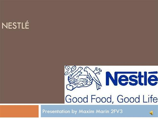 powerpoint presentation english company nestlé afgewerkt |authorstream, Presentation templates
