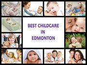 Best childcare in Edmonton