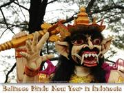 Balinese Hindu New Year in Indonesia
