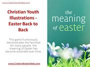 Christian Youth Illustrations - Easter Back to Back
