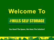 Self Storage Facilities at Castle Hill, Galston & Kings Park