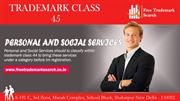Trademark Class 45 | Personal and Social Services