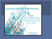 Best type of ERP manufacturing software