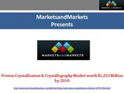 Protein Crystallization & Crystallography Market By 2018