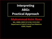 Arterial Blood Gases Interpretation Part1