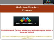 Network Camera Market - Global Forecast, Trend & Analysis