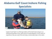 Alabama Gulf Coast Inshore Fishing Specialists