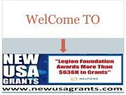 Get grants from banks for different purposes