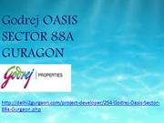 Godrej oasis new launch Sector 88A gurgaon
