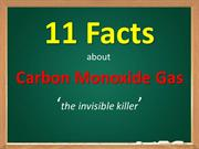 Carbon Monoxide - 12 Facts You Should Know