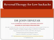 Reversal Therapy for backache