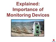 Explained Importance of Monitoring Devices
