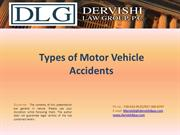 Types of Motor Vehicle Accidents
