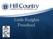Discover the Little Knights Preschool 2014