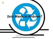 Getting to Zero Waste In Andover
