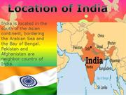 Location of India2