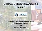 Electrical Distribution Analysis & Testing
