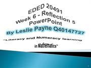 PowerPoint Reflection by Les Payne