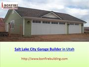 Salt Lake City Garage Builder