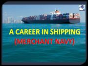 Merchant Navy-A noble option
