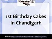 1st Birthday Cakes In Chandigarh