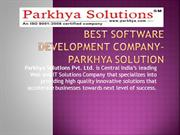 Software Development  in indore -Parkhya Solution