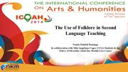 The Use of Folklore in Second Language Teaching