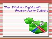 Repair corrupt Windows registry with top Registry Cleaner software