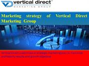 Marketing strategy of Vertical Direct Marketing  Group