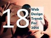 18 Hottest Web Design Trends for 2014