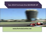 WATCHING Formula One BAHRAIN GP Live Streaming