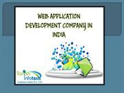 Web application development company in india