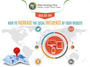 Local SEO Tips How To Increase The Local Influence of Your Website