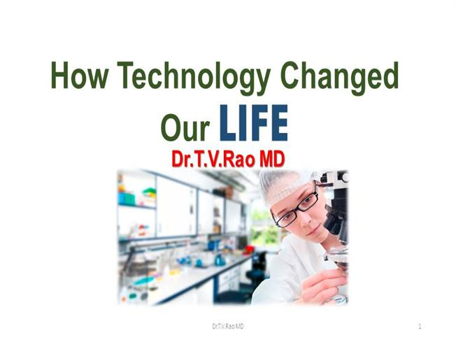 how technology changed our life