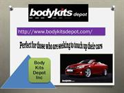 Huge Variety of Body Kit & Carbon Fiber Hood and Trunk