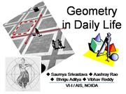 Geometry  in  Daily  Life