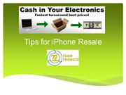 Cash In Your Electronics - Fastest turnaround best Prices!