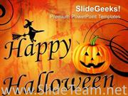 HAPPY HALLOWEEN ABSTRACT POWERPOINT BACKGROUND