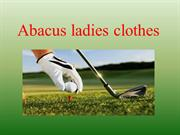 Abacus ladies clothes