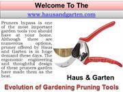 Quality Gardening Tools - Tree Trimming Equipment - Wood Cutting Tools