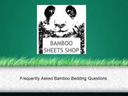 Frequently Asked Bamboo Bedding Questions