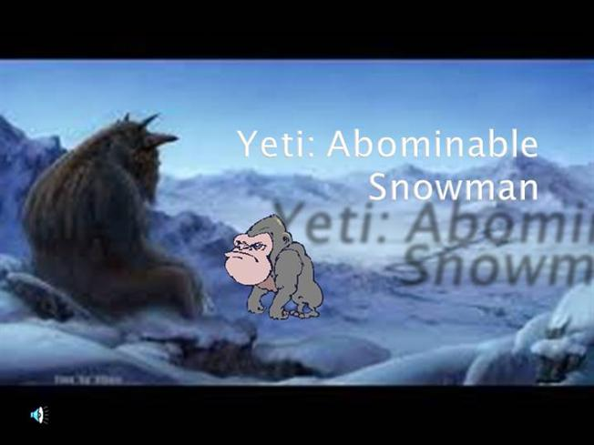 Yeti Authorstream