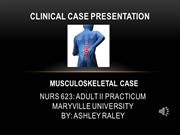 Clinical Case Presentation - Adult II