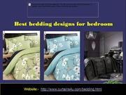 Best bedding designs for bedroom