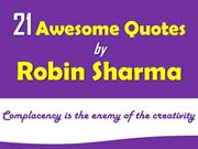 21 quotes by Robin Sharma