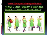 Best maid agency Singapore