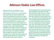 Atkinson Hadzic Law Offices