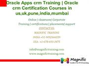 Oracle Apps crm Training  Oracle crm Certification Courses in us,uk,pu
