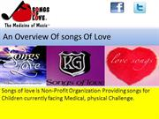 An Overview Of songs Of Love