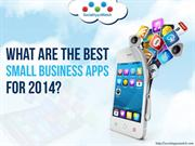 What are the Best Small Business Apps for 2014?